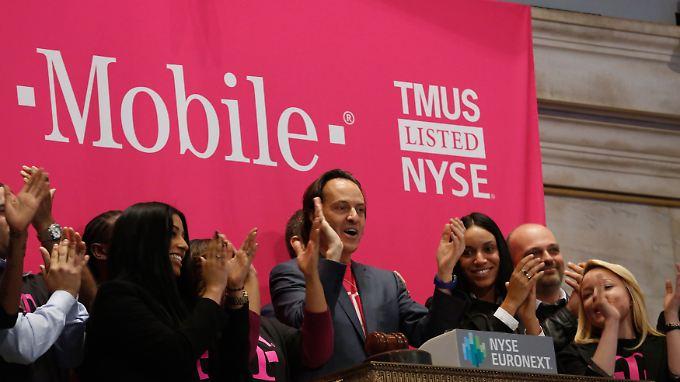 T-Mobile US: Börsennotiert seit Mai 2013.