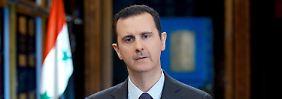 Genießt kein Vertrauen: Baschar al-Assad.