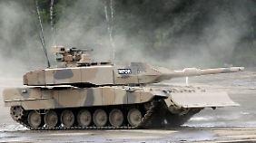 Am Kampfpanzer Leopard 2 A7+ sind die Düsseldorfer ebenfalls beteiligt.