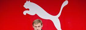 Gewinnprognose gesenkt: Puma gerät ins Straucheln