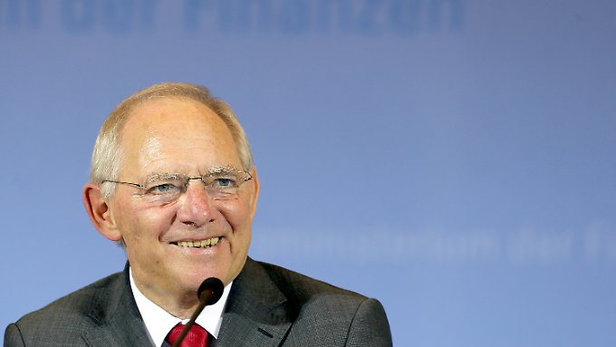 Steht die Wochenplanung für Wolfgang Schäuble?