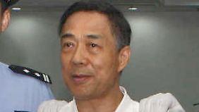 Bo Xilai wird am 22. September im Volksgericht in Jinan abgeführt.