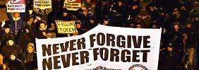 Kein Raum für rechte Parolen: Schneeberg protestiert gegen NPD-Stimmungsmache