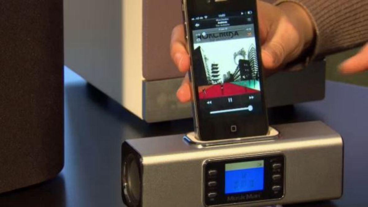 nie mehr strippen ziehen perfekter musikgenu im wlan netzwerk n. Black Bedroom Furniture Sets. Home Design Ideas