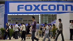 Foxconn stellt auch Konsolen für Nintendo und Microsoft her.