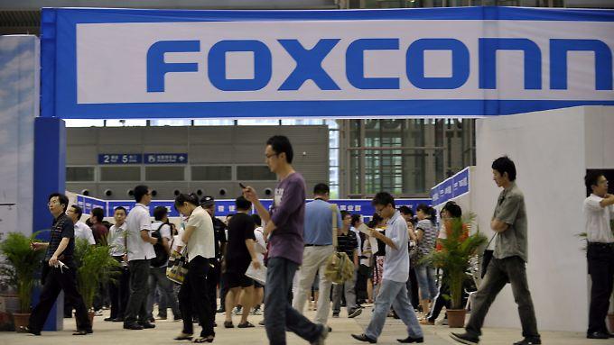 Immer wieder kommt es bei Foxconn zu Selbstmorden.