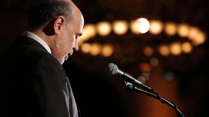 Ben Bernankes Rede ist mit Spannung erwartet worden.