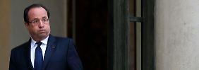 Für seine Franzosen ist François Hollande eine große Enttäuschung.