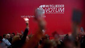 Der SPD-Spitze droht eine böse Niederlage beim Votum der Mitglieder.
