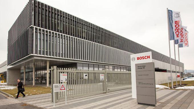 Bosch-Solar-Werk in Arnstadt.