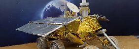 """""""Jade-Kaninchen"""" auf weiter Reise: China startet Mond-Mission"""
