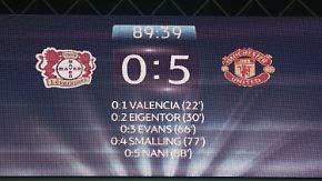 """Reaktionen auf Leverkusens 0:5-Debakel: """"Das ist eine bittere Nacht"""""""