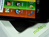 Volks-Smartphone von Motorola: Moto G ist unschlagbar günstig