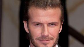 David Beckham:Bald ein «Sir»? Foto: Jörg Carstensen