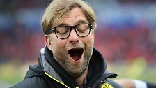Da kommt selbst sein Dortmunder Kollege Jürgen Klopp nicht mit.