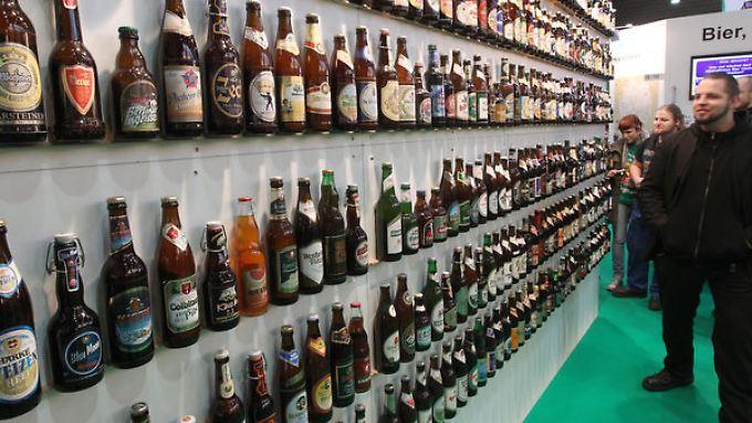 Zwischen Tausenden Sorten Bier kann der Liebhaber des Gerstensafts wählen.