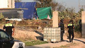 Diebe klauen Lkw mit Atommüll: Mexikanische Polizei findet gestohlenes Kobalt-60
