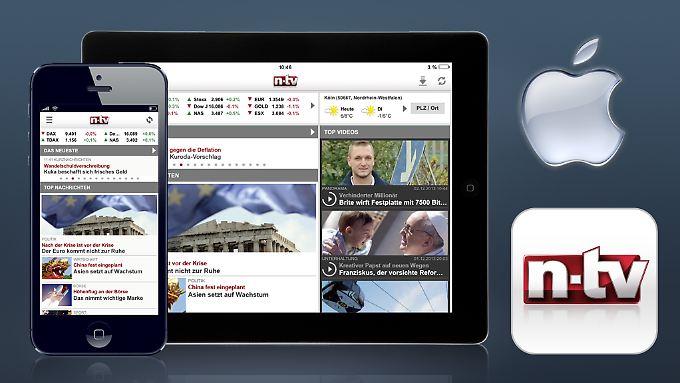 Eine App für iPhone und iPad