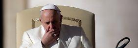 Papst Franziskus musste sich schon des Vorwurfs erwehren, er unternehme nichts.
