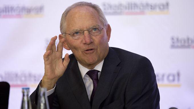 Wolfgang Schäuble ist 71 Jahre alt und kein bisschen amtsmüde - auch unter Schwarz-Rot will er Finanzminister bleiben, und das bis 2017.