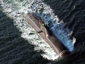 Ausnahmsweise über Wasser: In der U-Bootflotte der deutschen Marine ist U 31 eines von vier Einheiten der Klasse 212A.