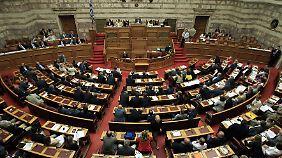 Haushalt gebilligt: Griechenland rechnet mit Wirtschaftswachstum