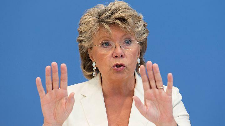 Viviane Reding kommt aus Luxemburg. Seit 2010 ist sie Vizepräsidentin der Europäischen Kommission und Kommissarin für Justiz.