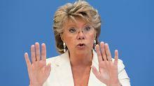 """Olympia in Sotschi? """"Sicherlich nicht!"""": EU-Kommissarin Reding macht's wie Gauck"""