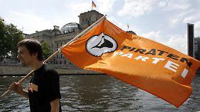 Die Piraten hatten vor einem Jahr noch fest damit gerechnet, in den Bundestag zu kommen.