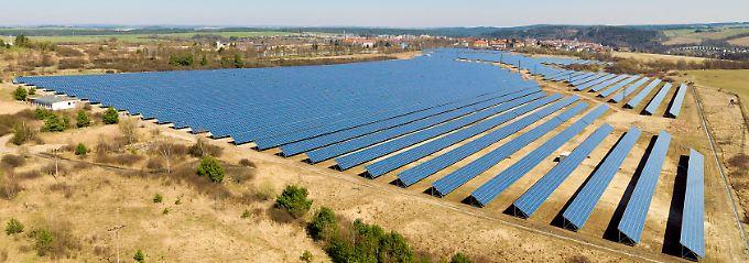 Vorzeigeprojekt in Tschechien: Der Solarpark Stribro mit einer Normleistung von 13,6 MW.