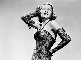 Joan Fontaine im Jahr 1945.