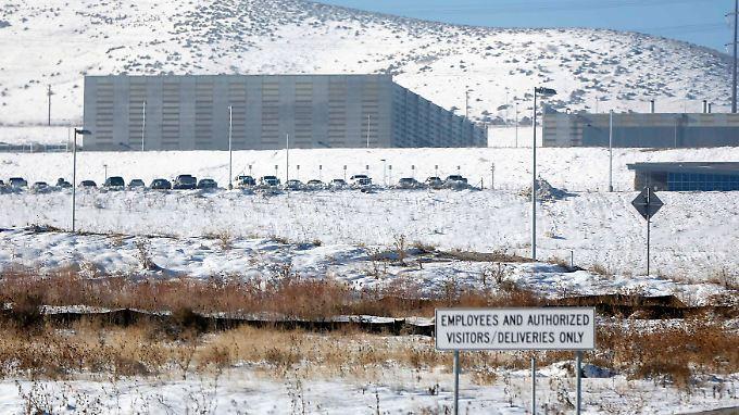 Diese Einrichtung der NSA in der Nähe von Salt Lake City sammelt und speichert massenhaft Daten.