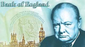 Die spinnen, die Briten - oder doch nicht? Bank of england plant Plastikgeld.