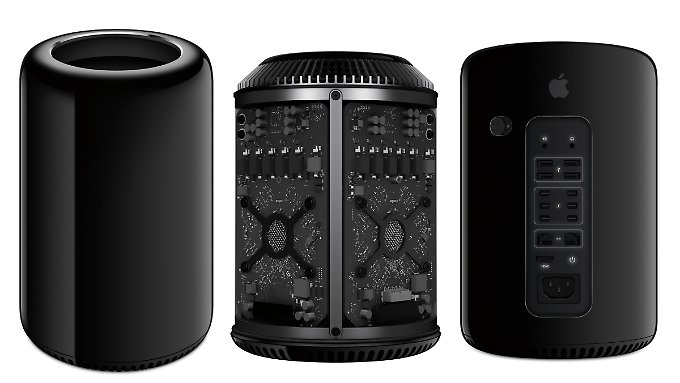 The new Mac Pro is not only very strong but also looks great.