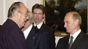 Chodorkowski fliegt nach Berlin: Ex-Außenminister Genscher organisiert Ausreise