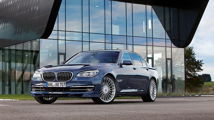 Die schärfste Version eines 7er BMW bietet im Augenblick Tuner Alpina mit dem B7 an.