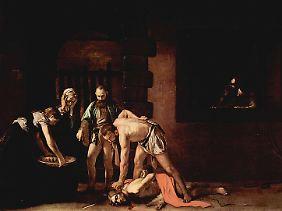 Seine Hinrichtung: Salome soll seinen Kopf als Belohnung für einen Tanz gefordert haben (Gemälde von Caravaggio, 1608).