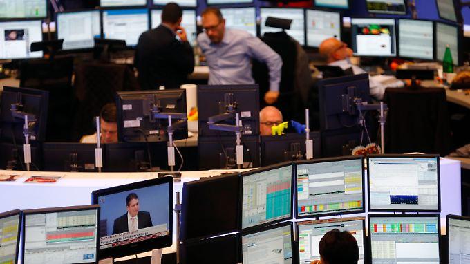 Die gute Stimmung an der Wall Street sorgt auch an den deutschen Börsen für steigende Kurse.