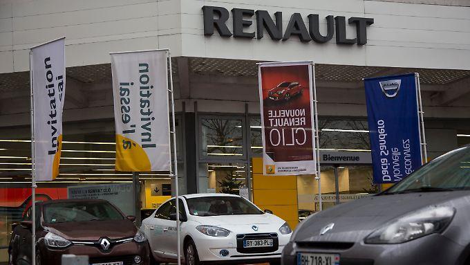 Auch Renault hofft auf bessere Zeiten.