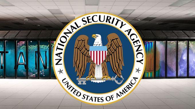 Mit dem Titan hat die NSA heute schon den zweitschnellsten Supercomputer im Dienst.
