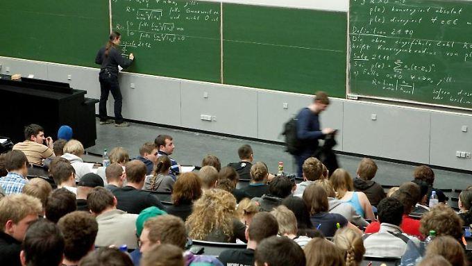 Ein Mathematikstudium ist anspruchsvoll. Vier von fünf Studenten brechen es vor dem Abschluss ab.