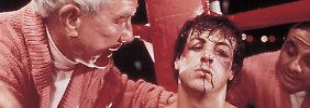 """Aber die Zeit des klassischen Hollywood war ohnehin vorbei, eine neue Generation übernahm das Zepter: 1976 sorgte Stallone als """"Rocky"""" für Aufsehen."""