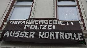 Plakat im Hamburger Schanzenviertel