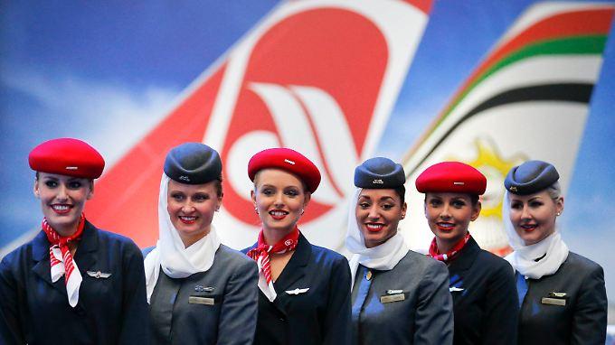 Die Zusammenarbeit mit Etihad ist Grundlage für den Rettungsplan für die angeschlagene Air Berlin.