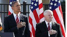 Nach Vorwürfen des Ex-Verteidigungsministers: Gates und Obama wollen Freunde bleiben