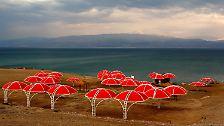Noch 50 Jahre: Das Tote Meer trocknet aus