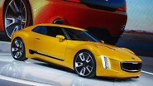 Gegen all die, die glaubten, Kia kann nicht wirklich sportlich. Das Showcar mit 2+2 Sitzen wird von einem 2,0-Liter-Turbobenziner angetrieben, ...
