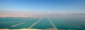 Nur noch 50 Jahre: Das Tote Meer trocknet aus