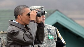 Die USA - hier Präsident Barack Obama - sehen ein Spionageabkommen mit Deutschland skeptisch. Politiker fordern, deshalb mehr Druck auszuüben.