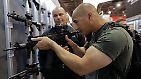 Weltgrößter Markt für Pistolen und Gewehre: Las Vegas lädt zur Waffenmesse